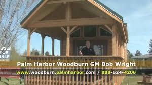 park model oregon cabin style park model salem woodburn youtube
