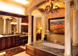tuscan bathroom ideas traditional style world feel antiqued mirror travertine tuscan
