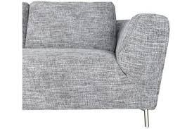 canap narbonne canapé d angle gauche en tissu gris design sur sofactory