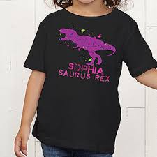 personalized dinosaur clothes toddler t shirt gifts