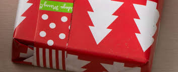 reversible christmas wrapping paper gift bjs stocked
