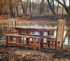 rustic dining table sets u2014 liberty interior rustic kitchen