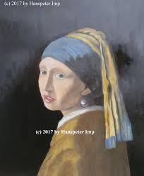 vermeer earring girl with a pearl earring vermeer repaint imgur