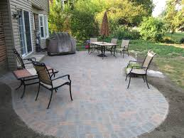 Paving Stones Patio Paver Stone Patios Installation Russell Landscape Services