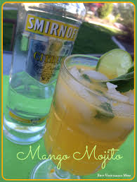 mango mojito recipe drinks busy vegetarian mom