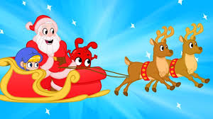 santa christmas video for kids with morphle and cute animals