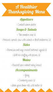 thanksgiving healthy thanksgiving menu uncategorized picture