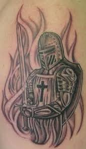 17 of the most powerful warrior tattoo designs