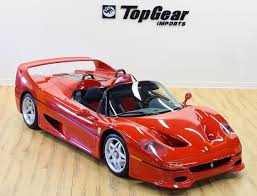 f50 top gear f50 goes up for sale with only 7 on the clock the