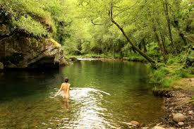 wild swimming images Rio teixeira aveiro portugal wild swimming outdoors in jpg