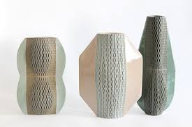 Rock Vases Helene Morbu Quetzal And Codex Vase For Maison Et Objet Fall