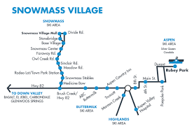 Map Of Aspen Colorado by Snowmass Village Bus Map U0026 Route Schedule Rfta
