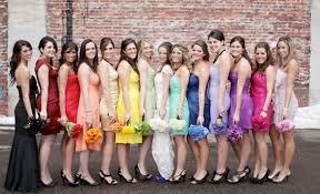 colored bridesmaid dresses gorgeous bridesmaid dresses cherry