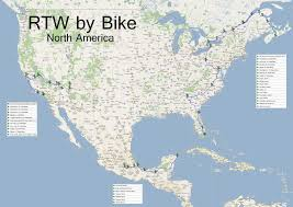 Cuernavaca Mexico Map by Round The World By Bike