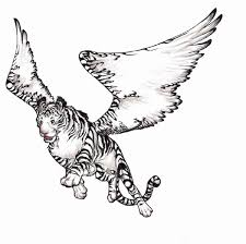 flying white tiger by pandabarrie on deviantart