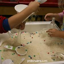 rice table for kids sand table ideas and water tables for kids diy best 25 on pinterest