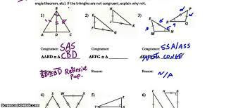triangle congruence tier 2 triangle congruence worksheet youtube