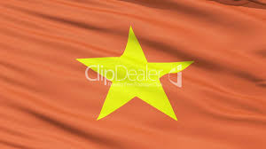Flag With Yellow Star Yellow Star On Vietnam Flag Royalty Free Video And Stock Footage
