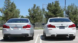 bmw 5 series differences socal f10 m5 initial review and comparison to f10 550i m sport
