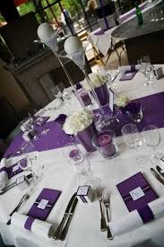 Wedding Reception Table Centerpiece Ideas by Best 25 Purple Table Decorations Ideas Only On Pinterest Purple