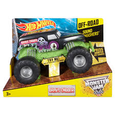 monster jam grave digger truck wheels monster jam grave digger sound smashers vehicle