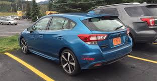 2017 subaru impreza sedan blue vwvortex com all new 2017 subaru impreza sedan 5 door unveiled