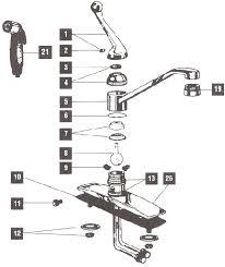 Delta Faucet 470 Delta Faucet Replacement Parts Rp44647 Pullout Spray Hose For 470