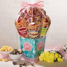 popcorn gift baskets popcornopolis gourmet popcorn 5 cone s day gift basket