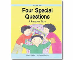passover books kids passover books four special questions a passover story