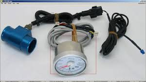 defi gauge water temperature adapter youtube