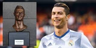 Soccer Player Meme - cristiano ronaldo bust at airport is about as bad as can be