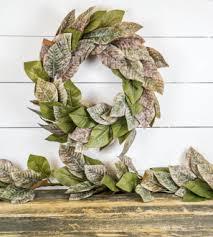 magnolia wreath the findery