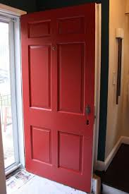 russet street reno our front door rustic red palette
