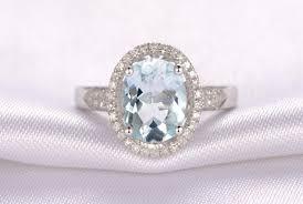 aquamarine engagement rings engagement rings aquamarine diamond cushion cut cocktail ring