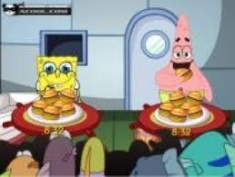 jeux de bob l 駱onge de cuisine jeu bob l éponge burger gratuit sur jeux com