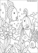 rainbow fish coloring pages coloring book