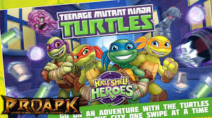 half android tmnt half shell heroes gameplay ios android proapk android