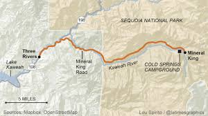 Sequoia National Park Map Find Adventure And Awe All Along Sequoia National Park U0027s Mineral