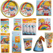 Rainbow Party Decorations Vintage Rainbow Brite Party Supplies Create Your Set Pick Only
