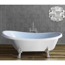 modelli di vasche da bagno vasca centro stanza per bagno classico con piedini kv store