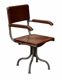 fauteuil bureau industriel fauteuil de bureau industriel en acier tournant antiquites de