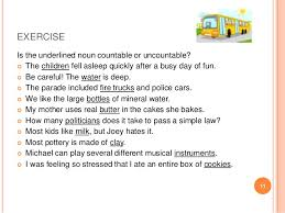 Countable And Uncountable Worksheet For Grade 2 Countable And Uncountable Nouns Cristina Galán