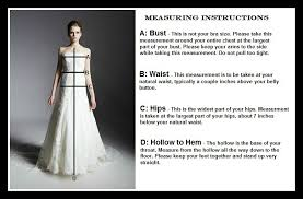 wedding dresses made to order custom wedding dress measuring
