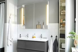 Mirrored Bathroom Storage Superb Bathroom Cabinet With Mirror Mirrors At Ikea Cabinets Home