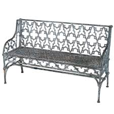 cast iron gothic bench for at stdibs image on awesome black iron