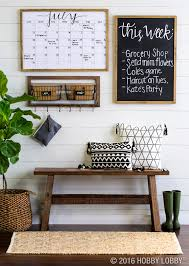Hobby Lobby Home Decor Ideas keep your family organized u0026 up to date with an on trend command