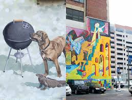 no 65 philidelphia s murals of brotherly love with a structure of community communication built into the mural arts program s working process a side benefit quickly became apparent to jane s team