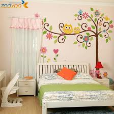 Decals For Walls Nursery Owl Wall Stickers For Room Decorations Animal Decals Bedroom