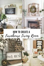 how to get a farmhouse look in your living room ash living