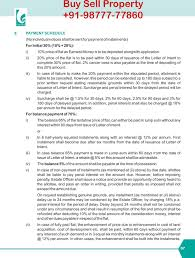 Letter Of Intent To Sell Property by Ecocity Mullanpur Ecocity New Chandigarh Plots